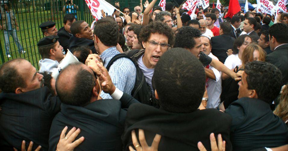 Manifestação em Brasília