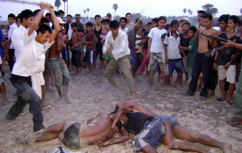 Agressão no Camboja