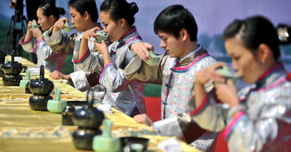 Chá na China