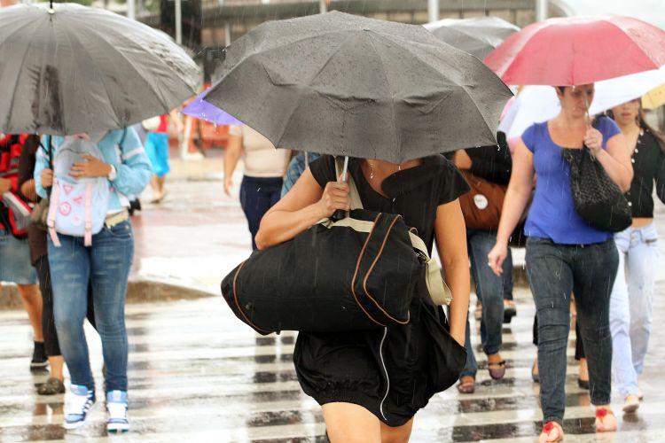 Chove forte em São Paulo