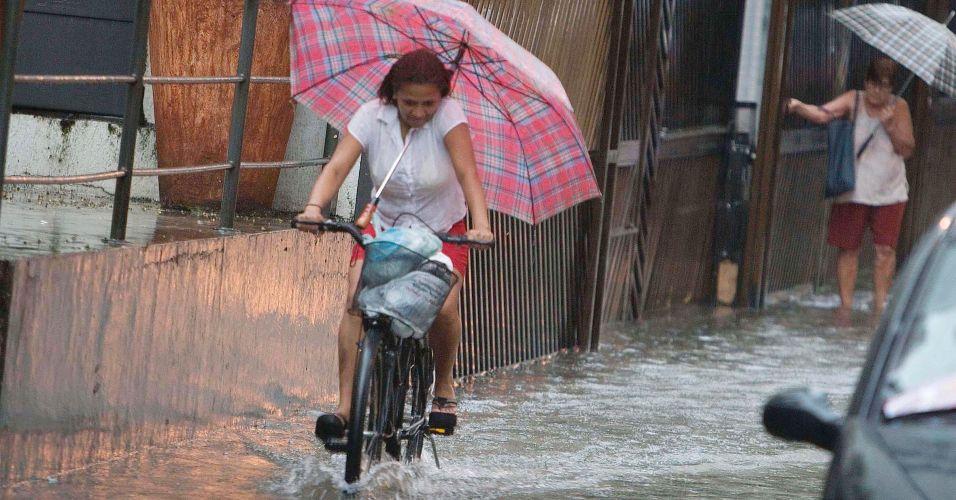 Chuva em Santos