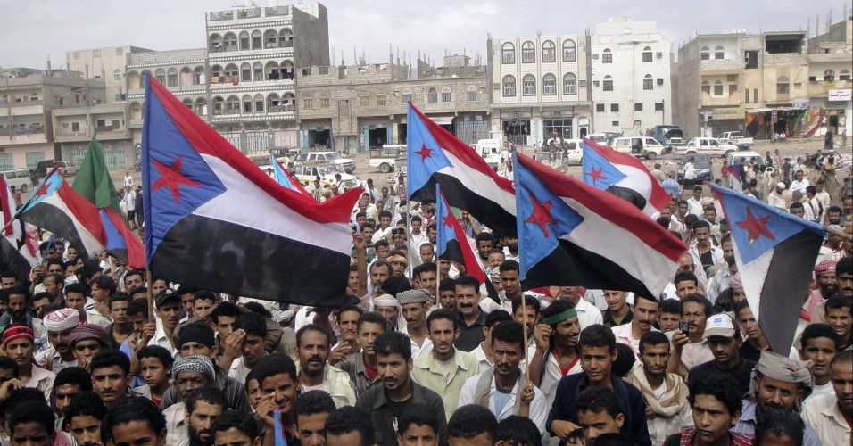 Protesto separatista no Iêmen