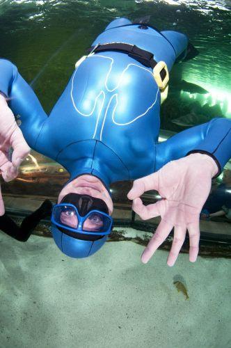 Mergulhador entra para o Guiness