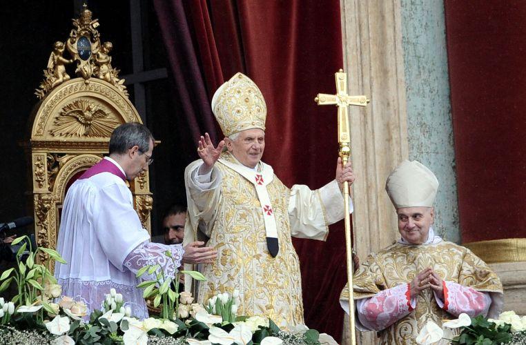 Papa dá sua mensagem de Páscoa