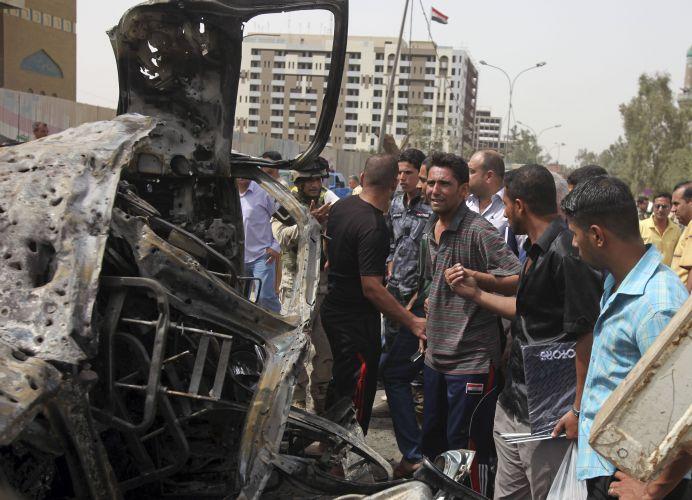 Atentados em Bagdá