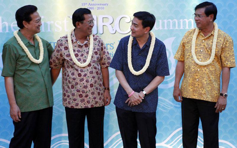 Líderes discutem situação do rio Mekong