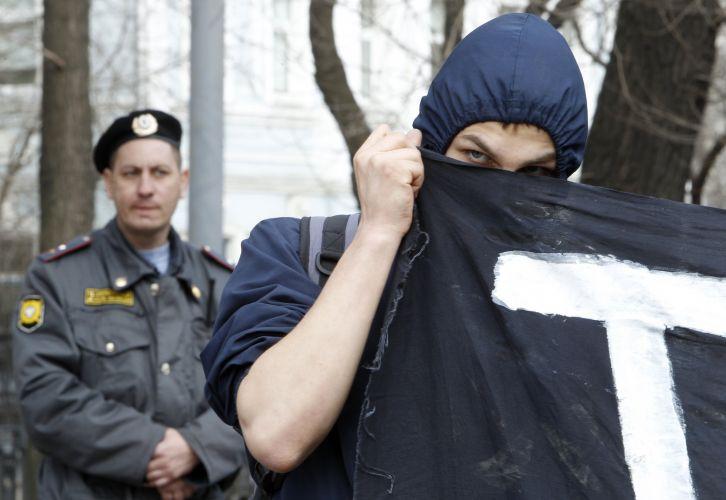 Moscovitas protestam contra polícia
