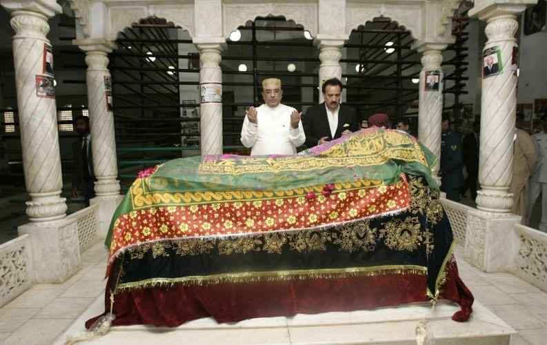 Paquistão lembra morte de líder político