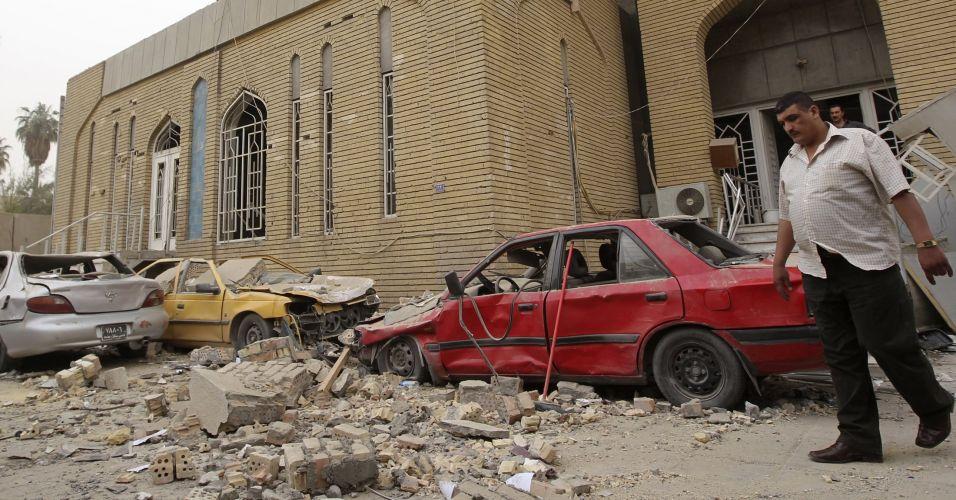 Bagdá pós-atentados
