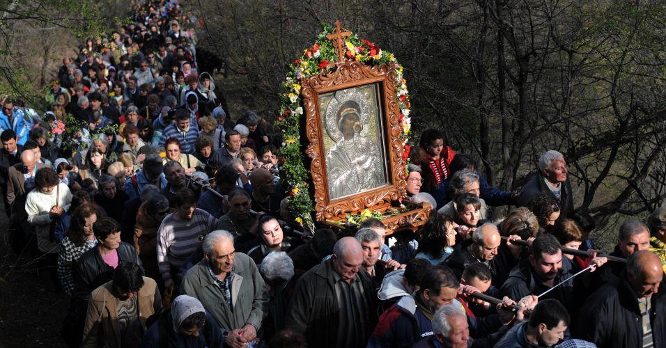Cristãos ortodoxos no Bulgária