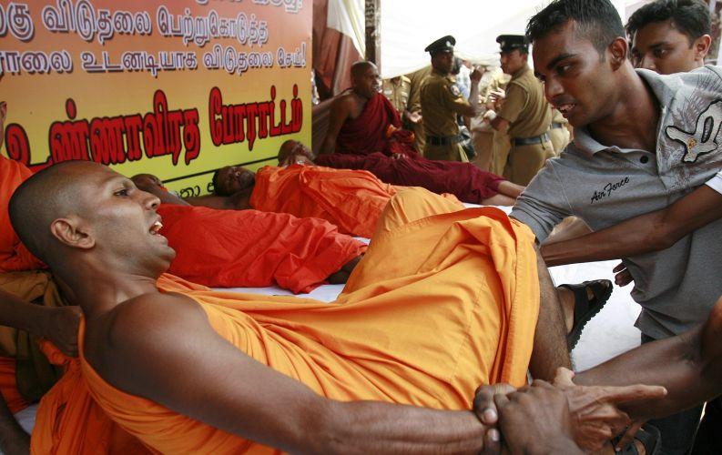 Tensão política no Sri Lanka