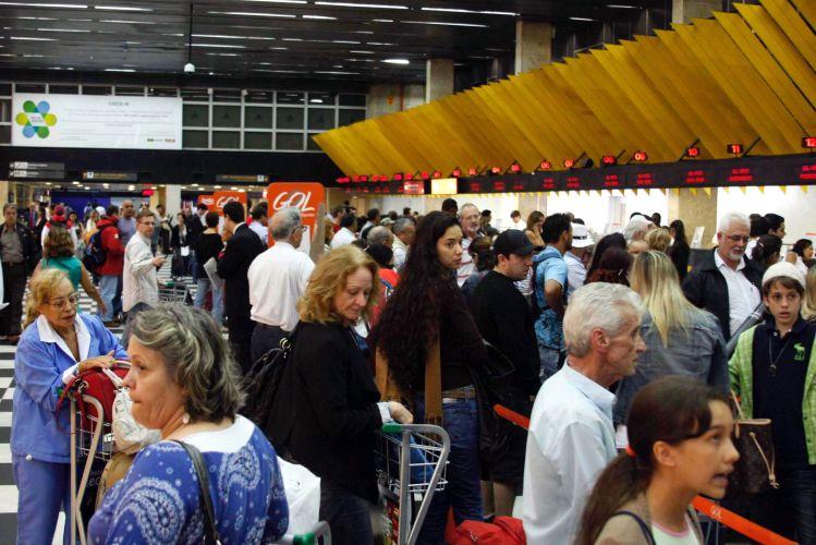 Atraso aeroportos