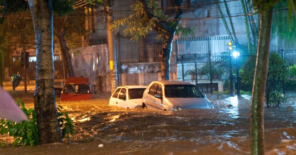 Chuva no RJ