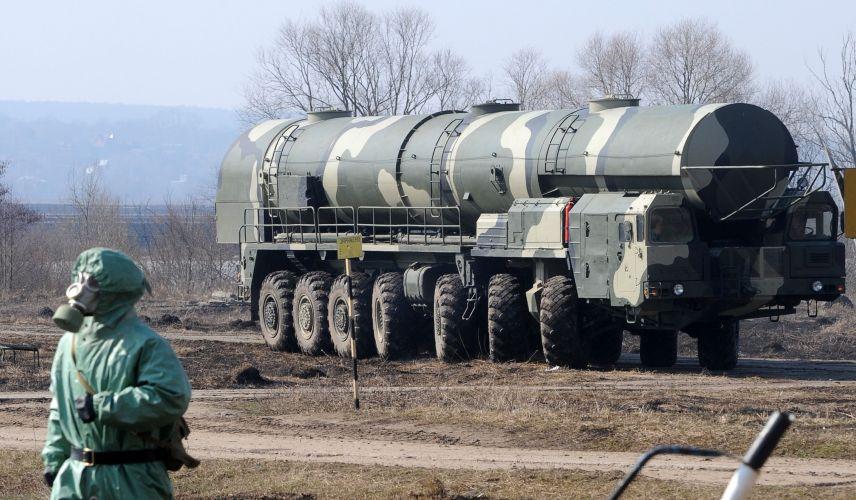 Base química na Rússia