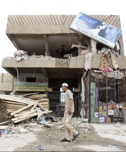 Rescaldo do atentado no Iraque