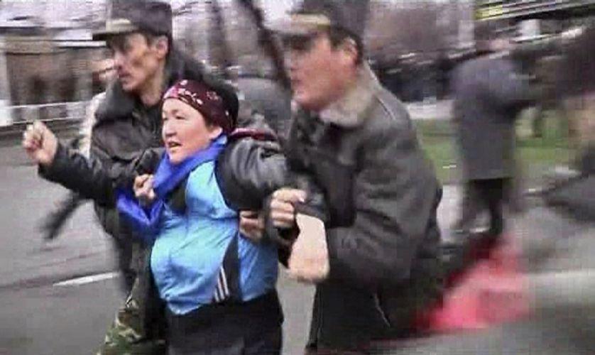 Confronto no Quirguistão