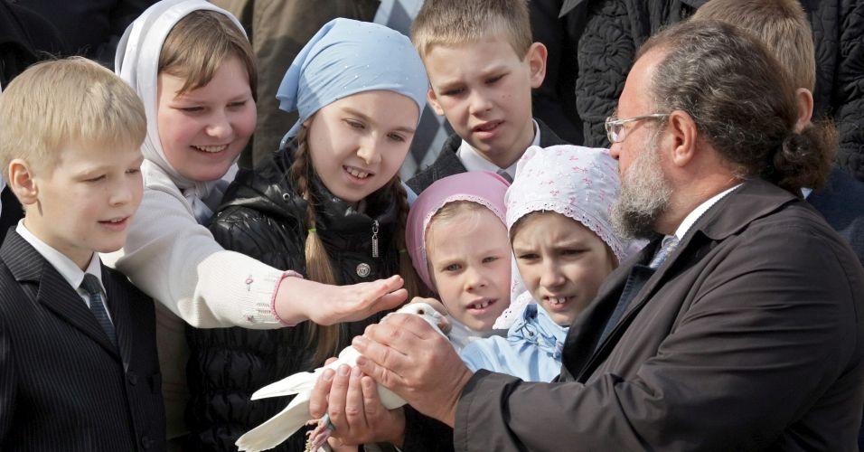 Dia da Anunciação na Rússia