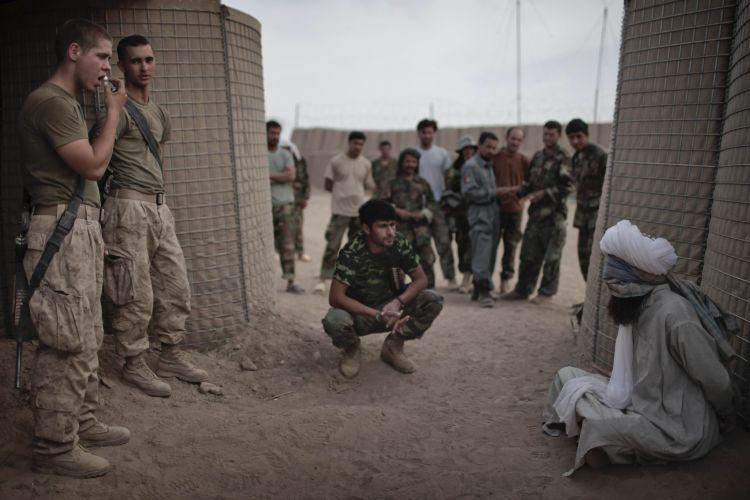 Afegão é preso