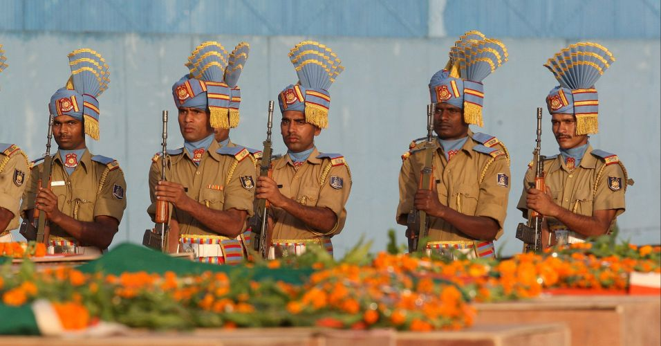 Homenagem na Índia