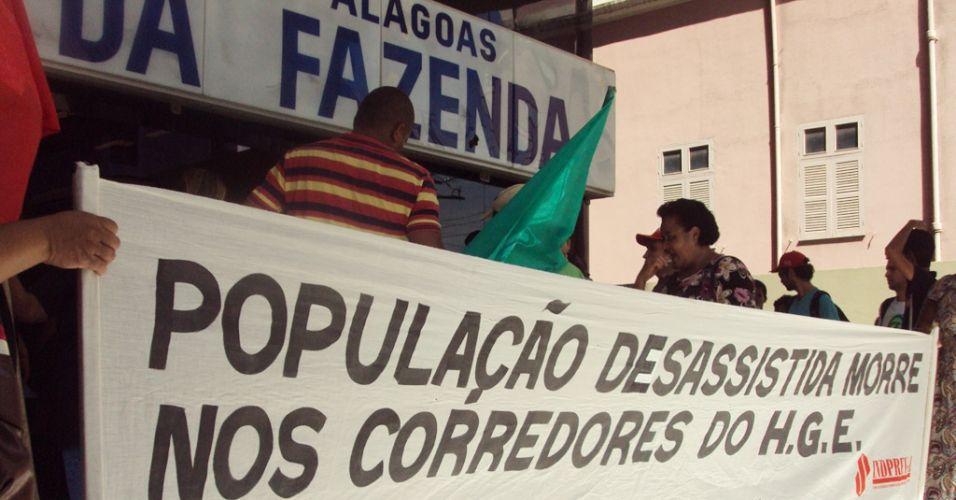 Manifestação em Alagoas