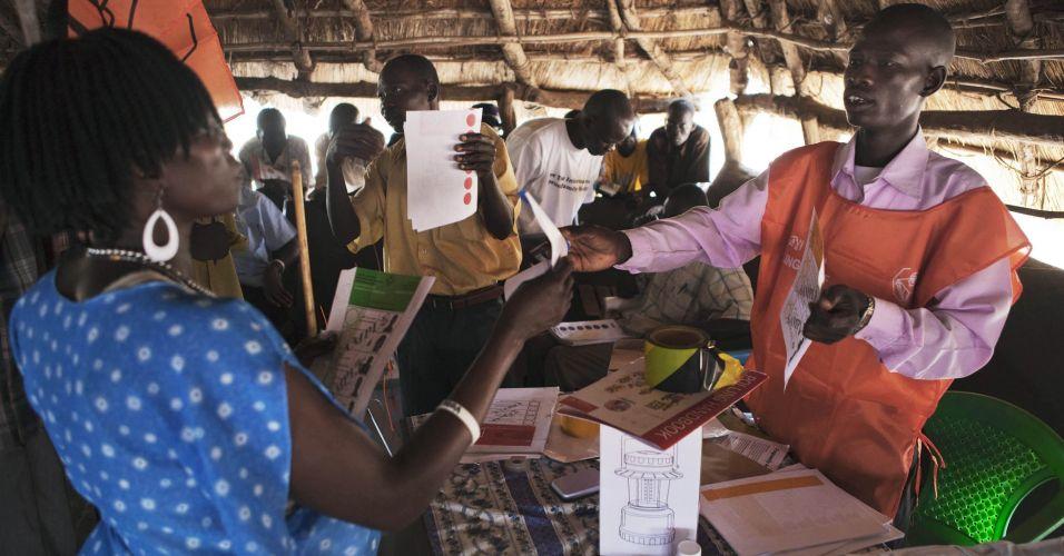 Preparativos para as eleições no Sudão
