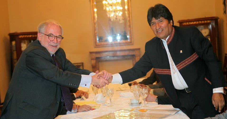 Diplomacia na Bolívia