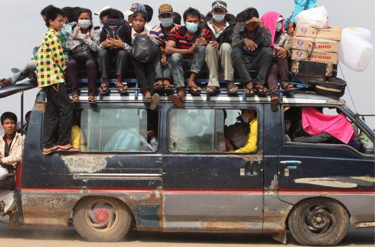 Transporte no Camboja