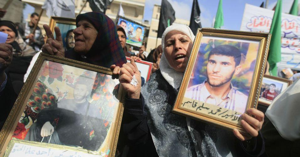 Protesto de palestinas