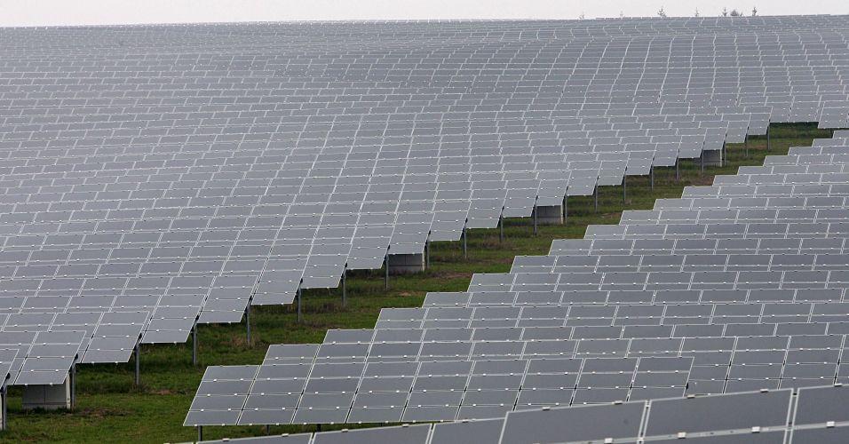 Maior sistema de energia solar do mundo