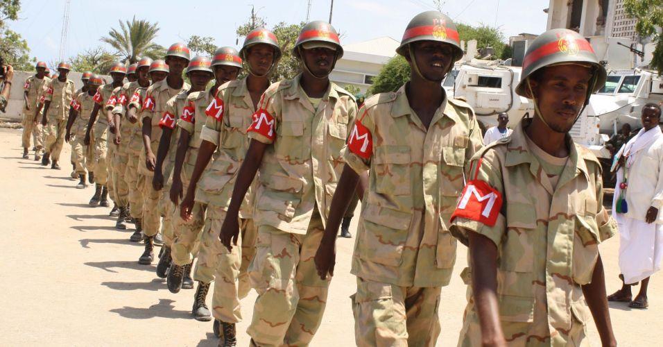 Aniversário das Forças Armadas da Somália