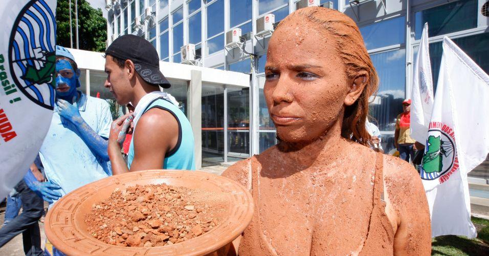 Manifestação contra Belo Monte