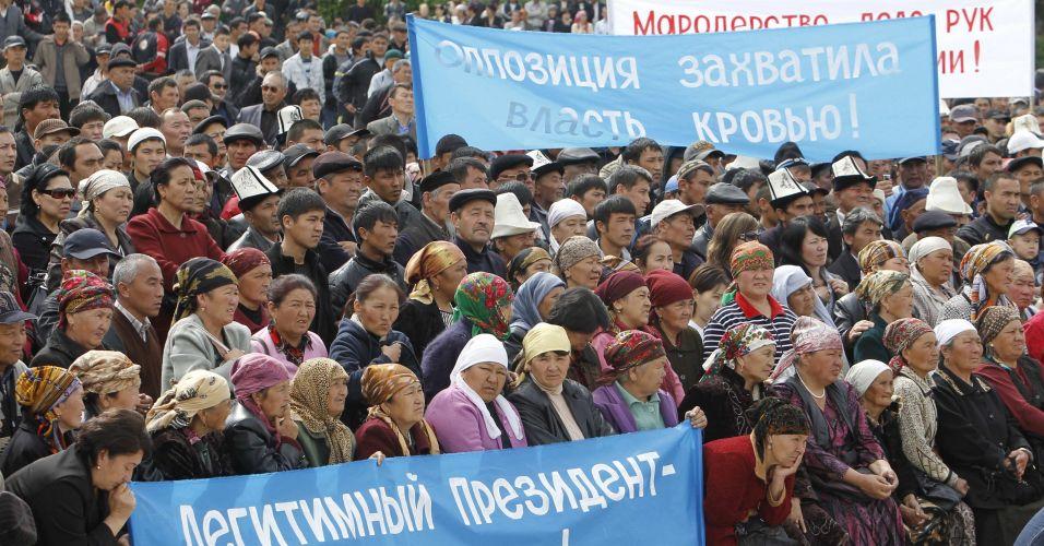 Conflito no Quirguistão