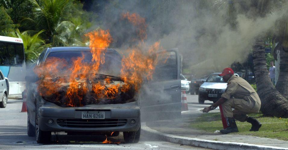 Fogo em Niterói
