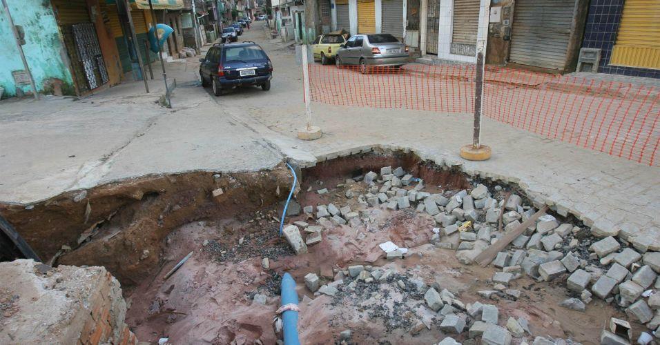 Rescaldo das chuvas em Salvador