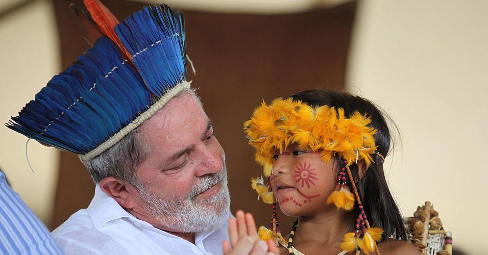 Lula e o Dia do Índio