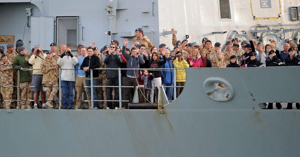 Carona no navio