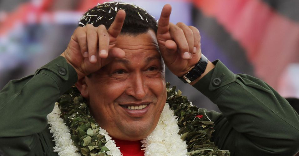 Chávez na Bolívia