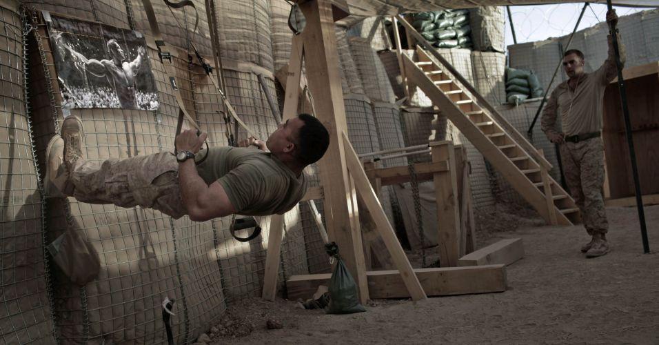 Exercício no Afeganistão