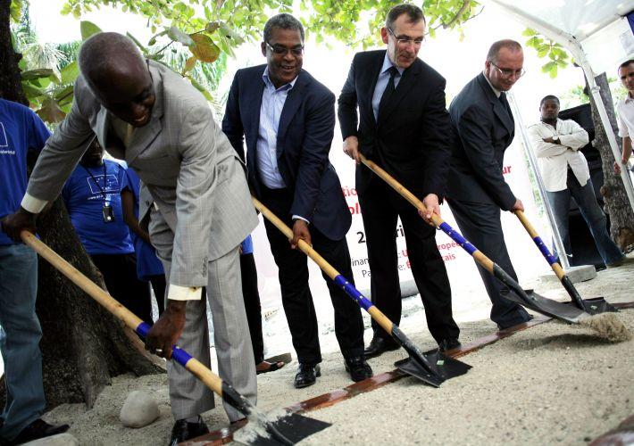 Reconstrução no Haiti