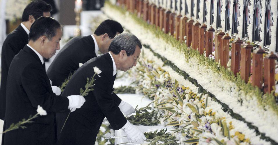 Homenagem a marinheiros japoneses