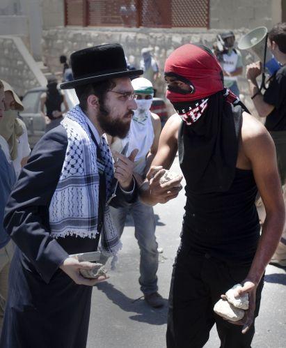 Confronto em Israel