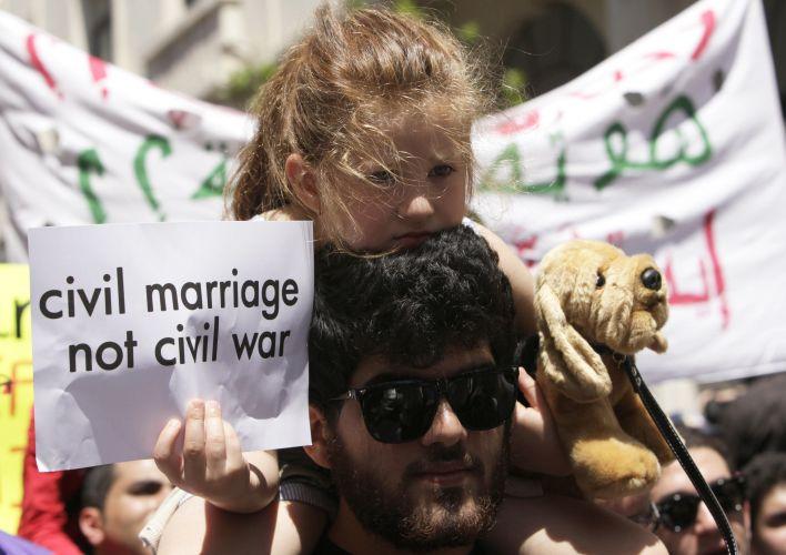 Protestos no Líbao