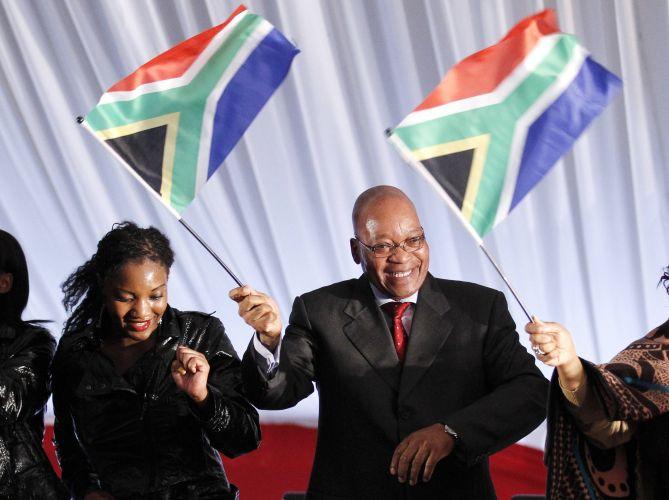 Presidente da África do Sul em campanha contra HIV