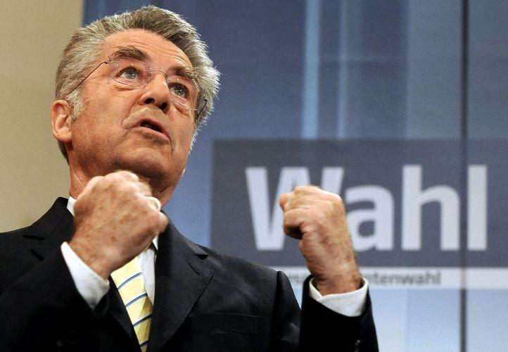 Presidente austríaco é reeleito