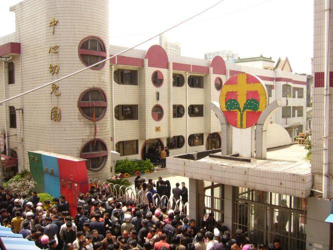 Tragédia escolar na China