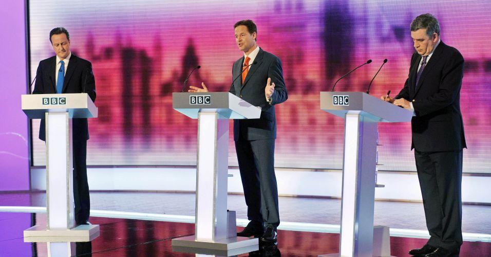 Último debate no Reino Unido