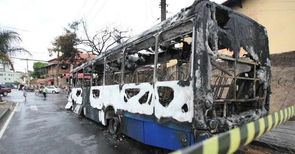 Ônibus incendiado em BH
