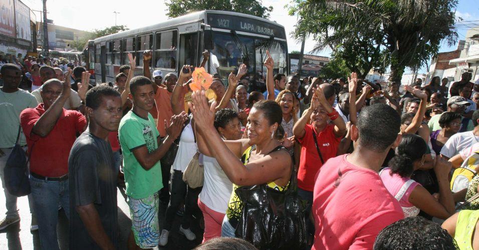 Greve dos rodoviários em Salvador