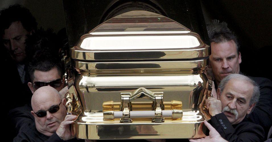 Caixão feito de ouro