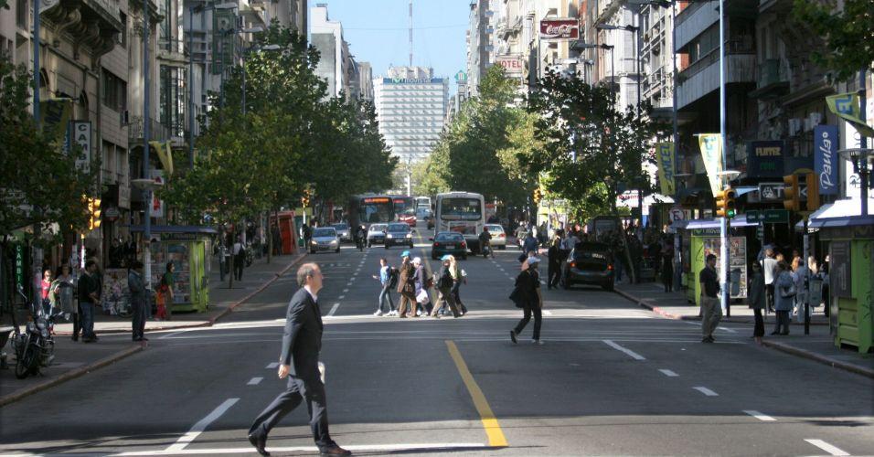 Greve em Montevidéu